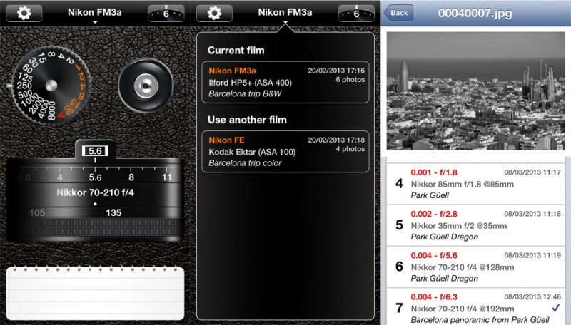 PhotoExif, una aplicación para aprender a controlar tu cámara