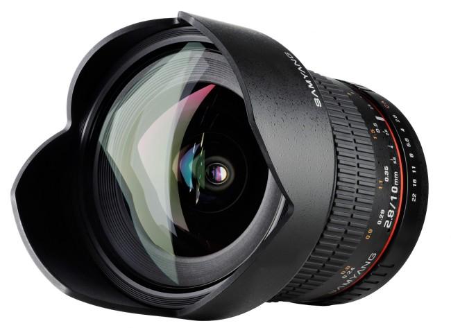 Samyang presenta oficialmente su 10mm f/2.8