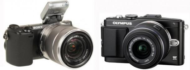 Sony y Olympus, las marcas que lideran el mercado compacto