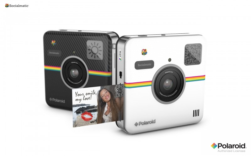 Socialmatic y C3, las propuestas de Polaroid para 2014