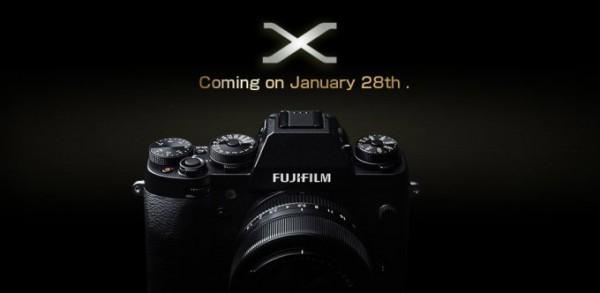 Ya tenemos la primera imagen oficial de la Fujifilm X-T1