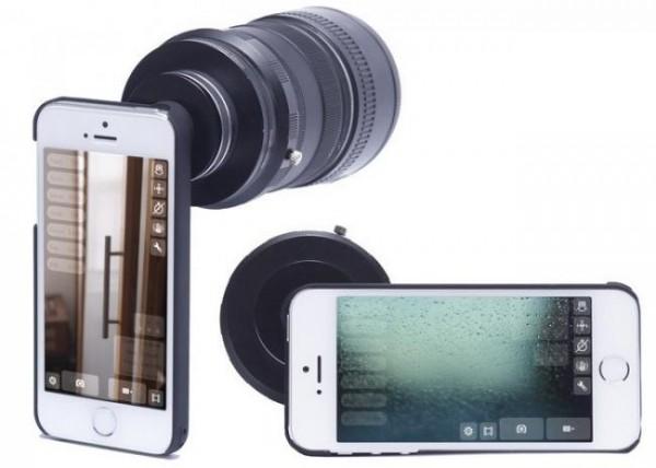Turn-I-Kit, el nuevo adaptador de iPhone para objetivos