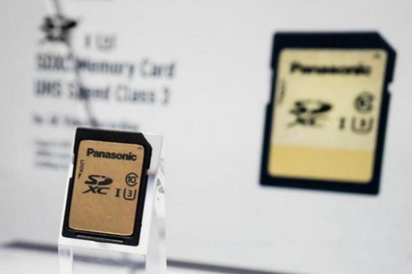 Panasonic ha dado a conocer nuevas tarjetas de almacenamiento