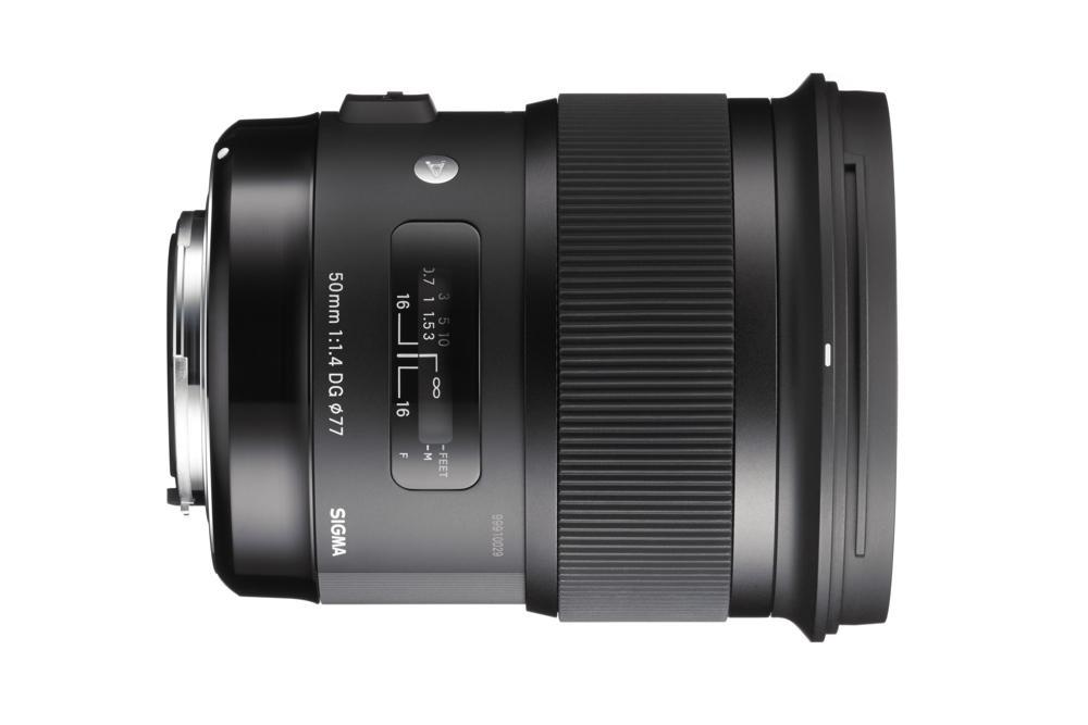 Sigma renueva su clásico 50mm f1.4