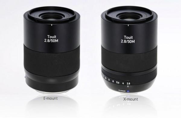 Zeiss Touit 50 mm, el nuevo macro de Zeiss Touit