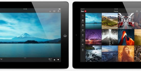 Ya podemos subir fotografías desde el iPhone o el iPad a 500px
