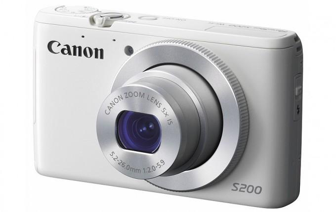 Powershot S200: la gama media de Canon