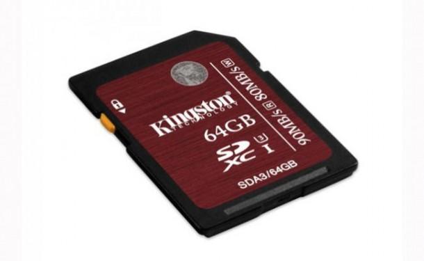 Nuevas tarjetas de almacenamiento Kingston para vídeo en formato 4K
