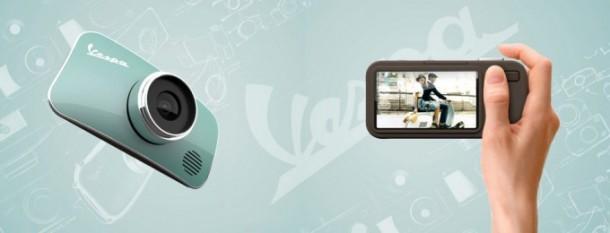 Vespa Camera, una cámara con forma de Vespa
