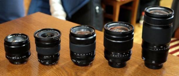 Nuevas noticias de los objetivos XF de Fujifilm