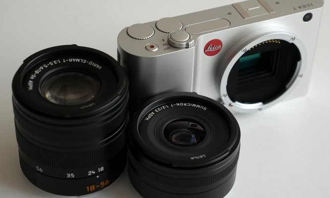 Leica lanza los dos primeros objetivos para su Leica T