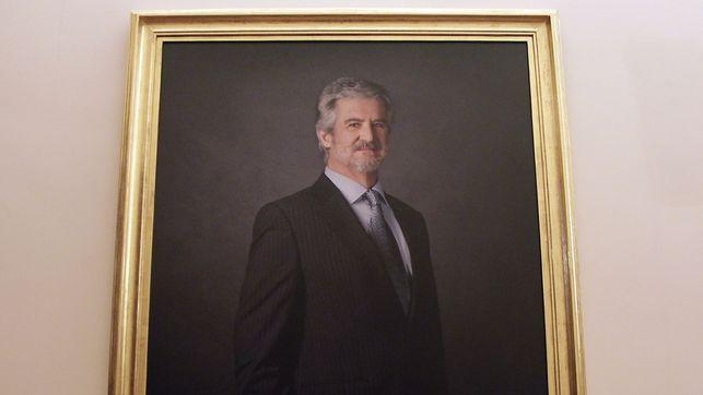 La fotografía de la discordia firmada por García Rodero se cuelga en el Congreso