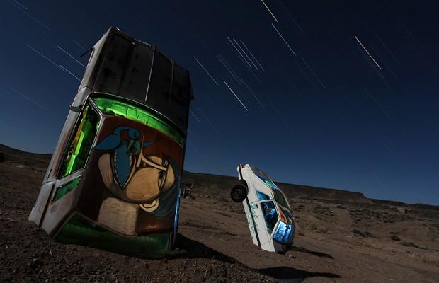 David A. Evans: las crónicas marcianas de un entusiasta de la larga exposición
