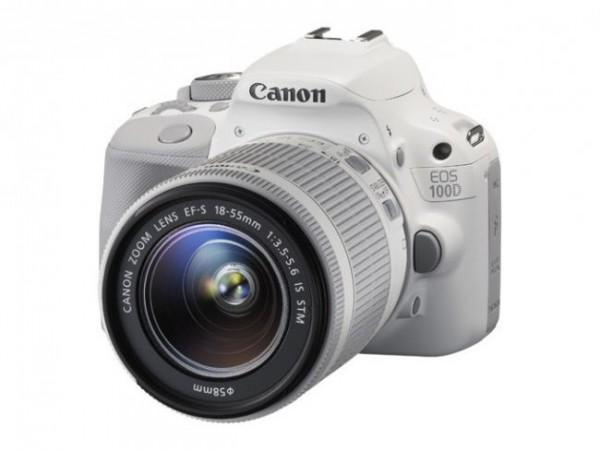 La Canon EOS 100D ahora también en color blanco