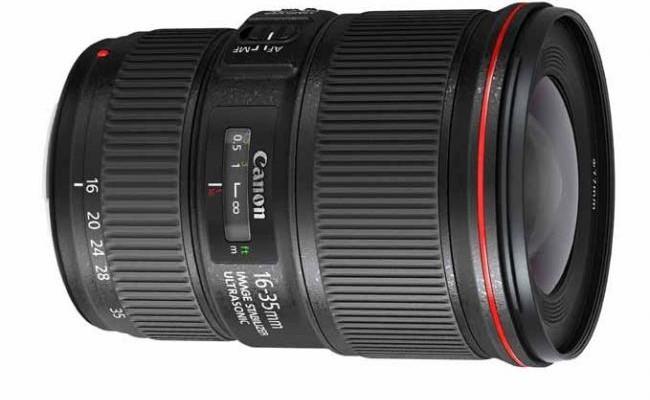 EF 16-35 mm f/4L IS USM, nuevo objetivo con alto rendimiento de Canon