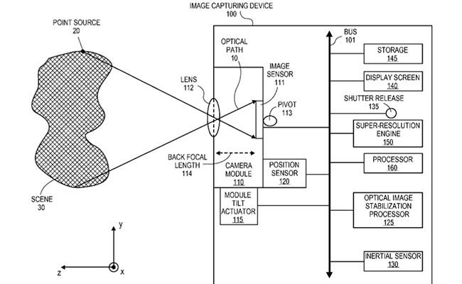 Apple quiere patentar un sistema de estabilización para mejorar la resolución de las fotos de su iPhone