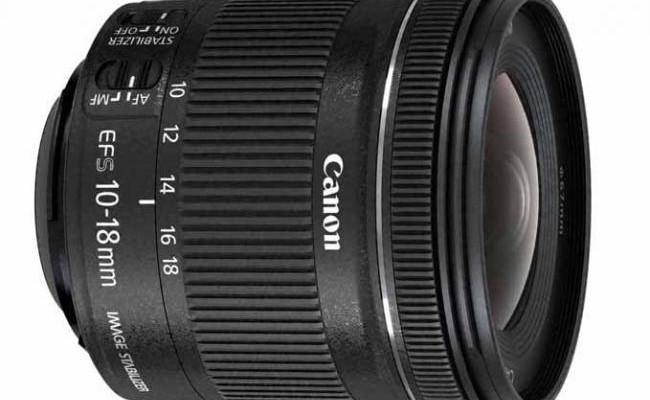 EF-S 10-18 mm f/4.5-5.6 IS STM con sensor APS-C