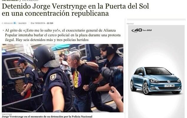 Una treintena de medios roban una foto de Eric G. Madroñal