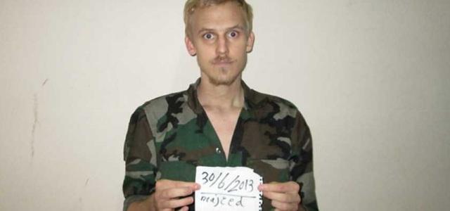 Daniel Rye Ottesen fue liberado el jueves pasado de su secuestro en Libia