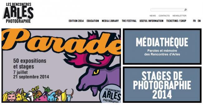 Nueva edición de 2014 del festival de fotografía de Arlés