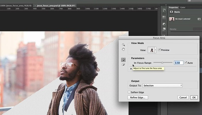 El nuevo Photoshop incorporará un nuevo y prometedor método de selección