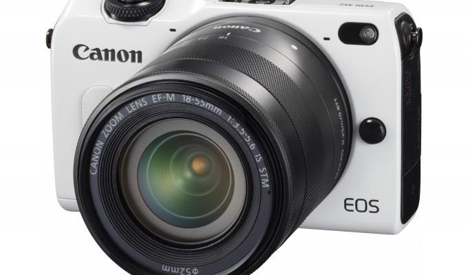Canon ha anunciado el lanzamiento de dos nuevos colores para la EOS M2