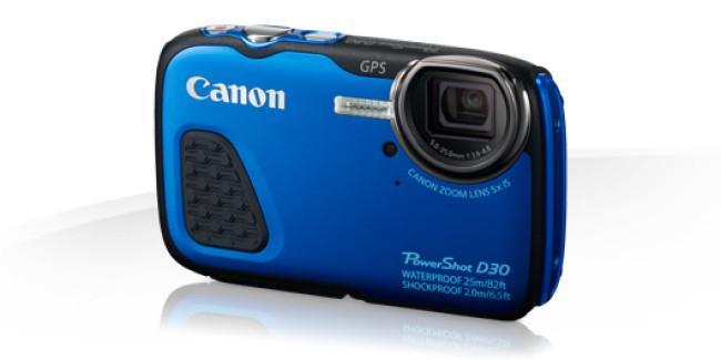 Canon ha registrado una nueva cámara sumergible con un zoom de 45x