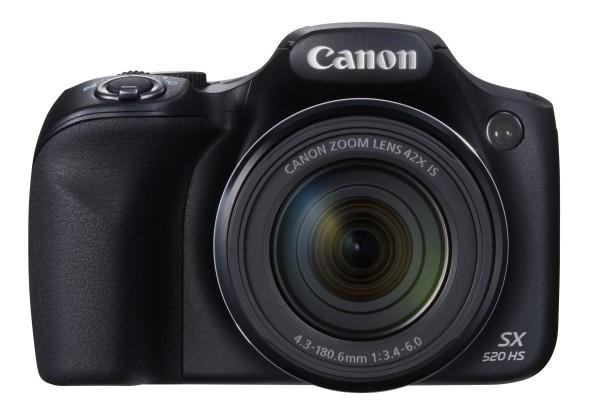 Nueva Canon PowerShot SX520 HS: buena, bonita y barata