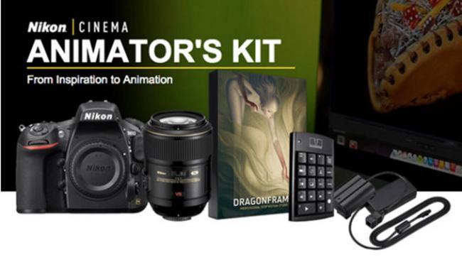 Nikon presenta un nuevo pack para la creación de la técnica stop-motion