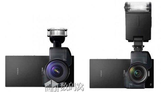 El Sony Xperia Z3X será el primer smartphone con sensor curvo