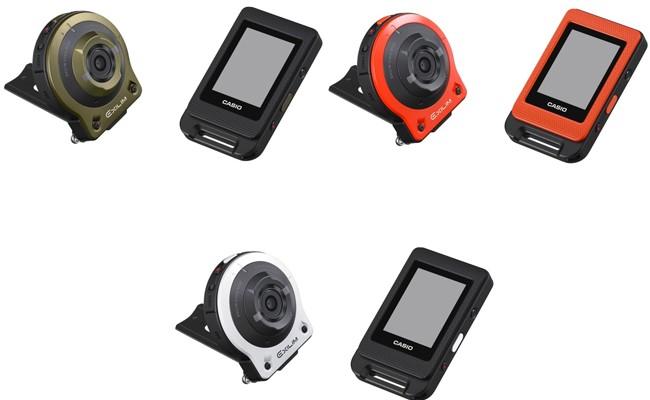 Casio se atreve con las cámaras de acción y presenta la Exilim Split Camera