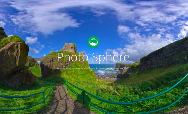 Photo Sphere Camera llega a iOS