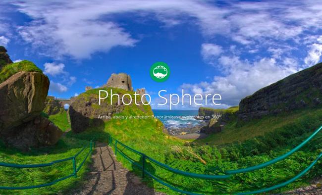 Photo Sphere Camera llega a iOS