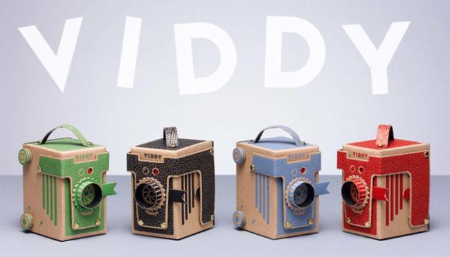 Viddy, una cámara estenopeica