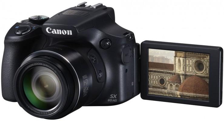 Canon PowerShot SX60, la cámara con un zoom ópticos de 60 aumentos