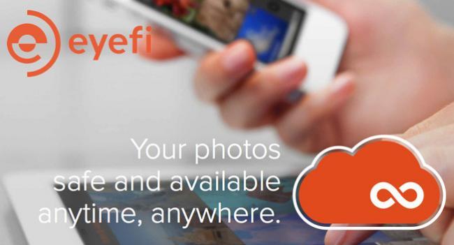 Eyefi Cloud, el servicio de nube de Eyefi