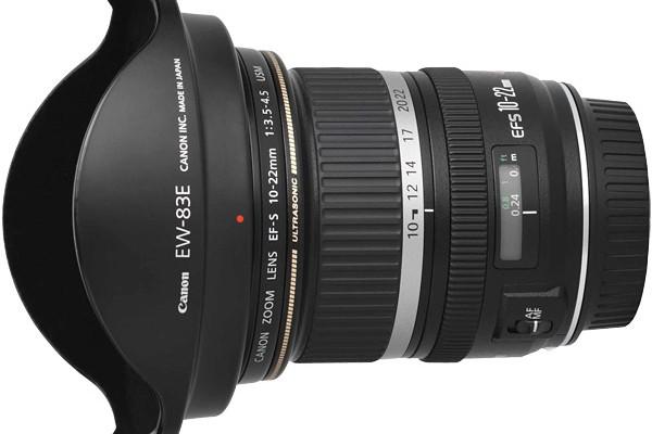 Canon patenta un gran angular con una lente líquida