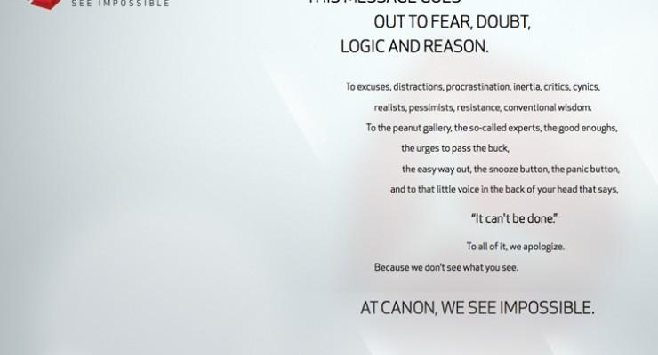 Canon realiza una cuenta atrás para el lanzamiento de un producto misterioso