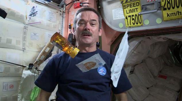 Chris Hadfield publica un libro con las fotografías tomadas desde la Estación Espacial Internacional