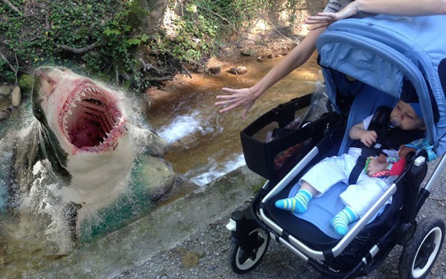 Adventures in Babysitting, una serie de fotos para crear pánico entre los padres
