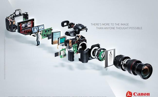 La sorpresa de Canon era una nueva web que hace hincapié en la usabilidad de sus productos