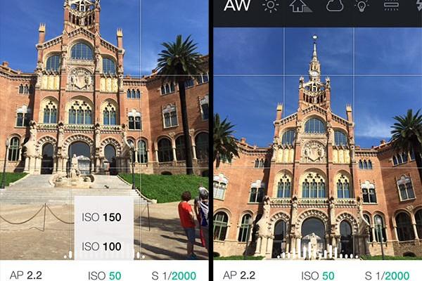 Controla manualmente la cámara de tu iPhone gracias a iOS 8 y Manual