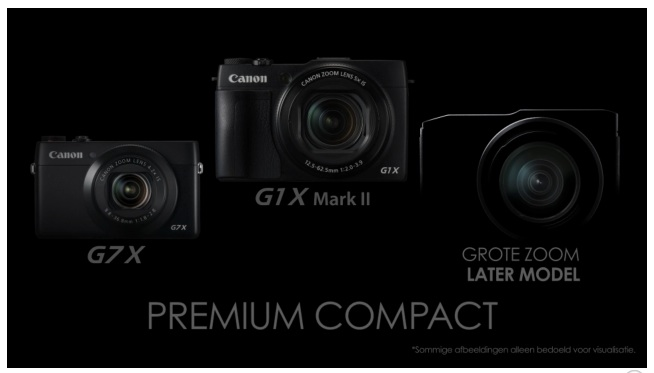 Canon trabaja en una compacta de gama alta con un gran zoom