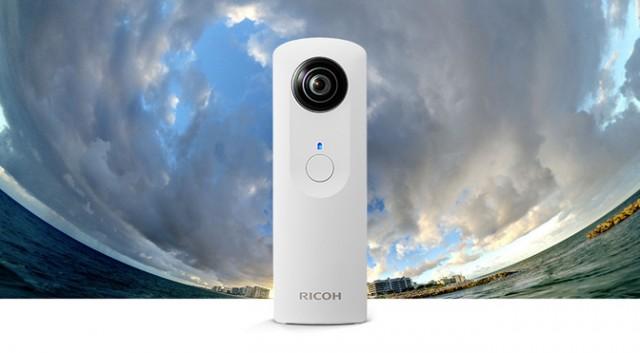 La nueva Ricoh Theta dispondrá de wifi y grabación de vídeo