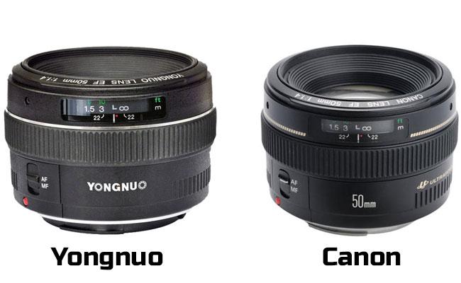 Yongnuo pega el salto a la fabricación de objetivos baratos con un 50mm f/1.4