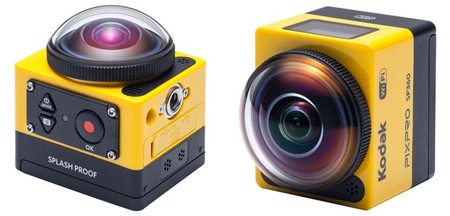 Kodak PixPro SP360, otra cámara de acción que pretende plantarle cara a GoPro
