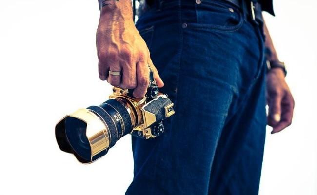 Lanzan una Nikon Df bañada en oro por 41.400 dólares